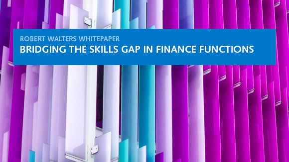 Robert Walters whitepaper: bridging the skills gap in finance functions